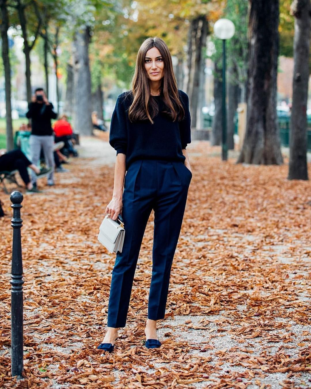 As The Fashion Pack Arrives In French Capital For Paris Week See Best Street Style Looks And Trends From Streets Outside Shows