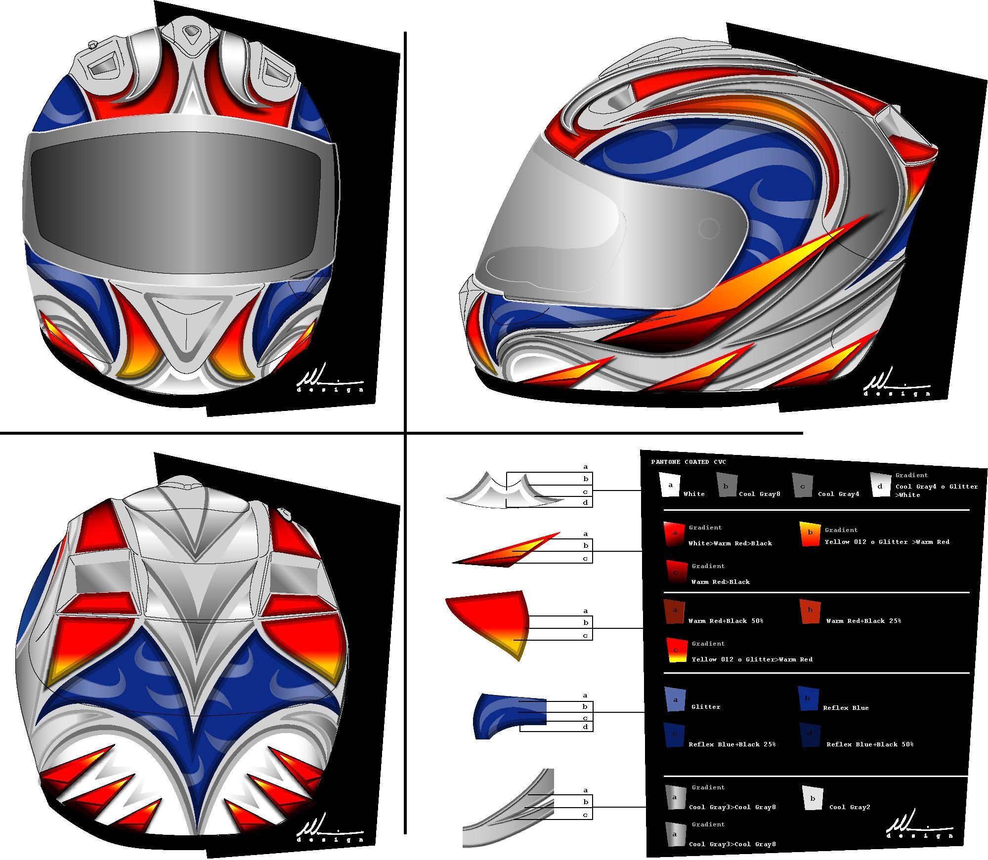Marushin Helmet Graphic Design My Aesthetic Contribution To The - Motorcycle helmet decals graphicsmotorcycle helmet graphics the easy helmet upgrade