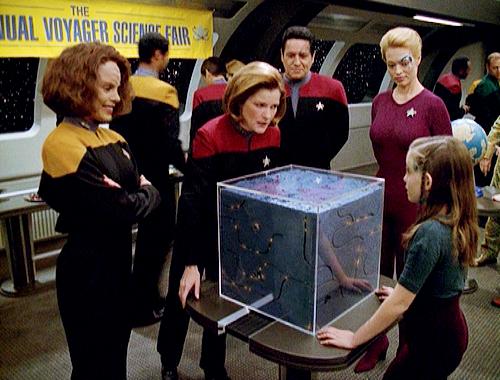 seven erotica janeway Voyager belanna