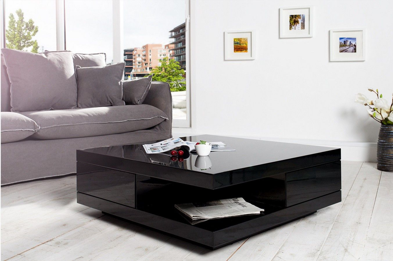 inspirant table basse noire design Home Pinterest
