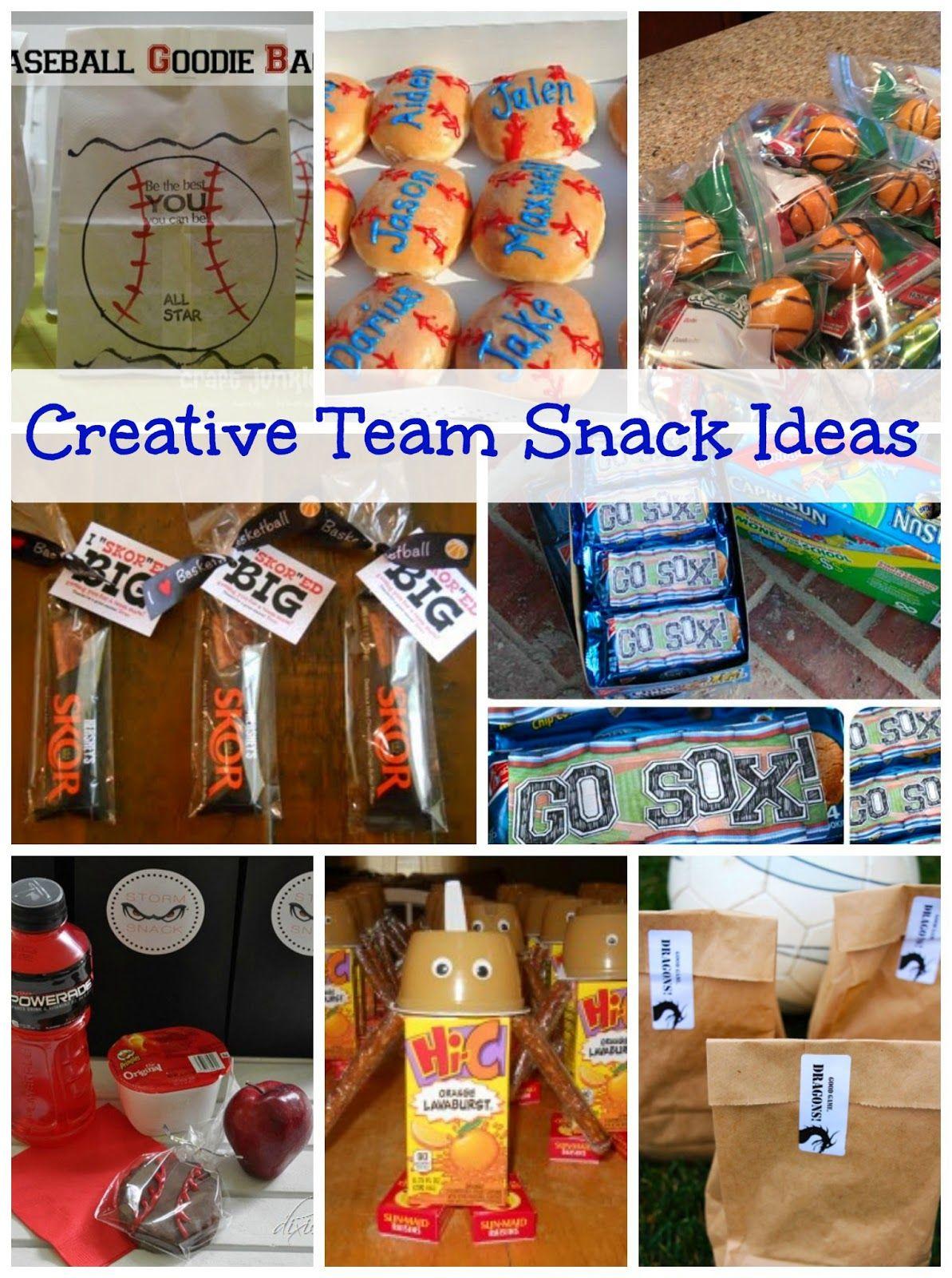 creative team snack ideas snacks for the team pinterest team