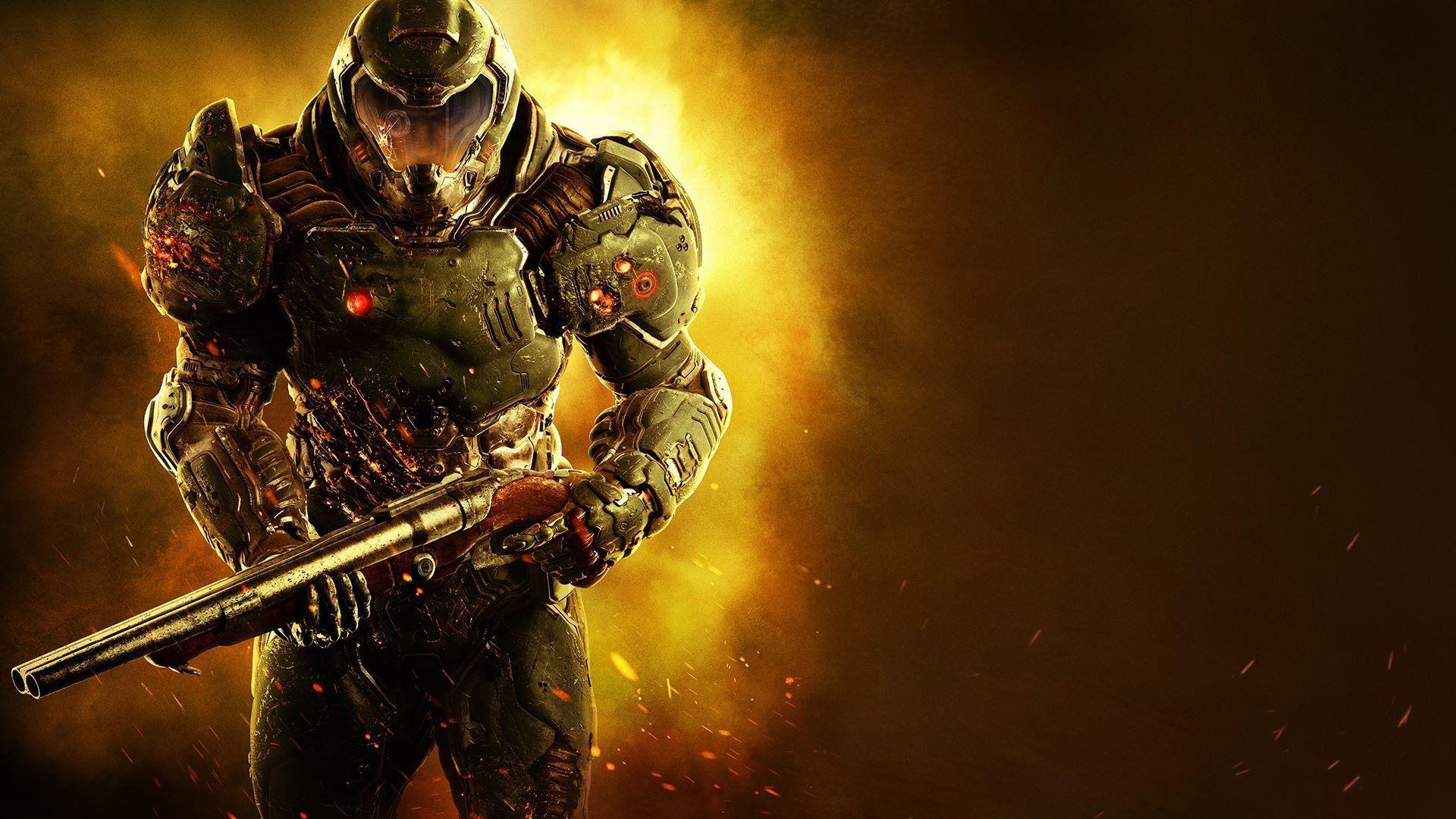 Doom Wallpaper Videojuegos Xbox One Y Gamers