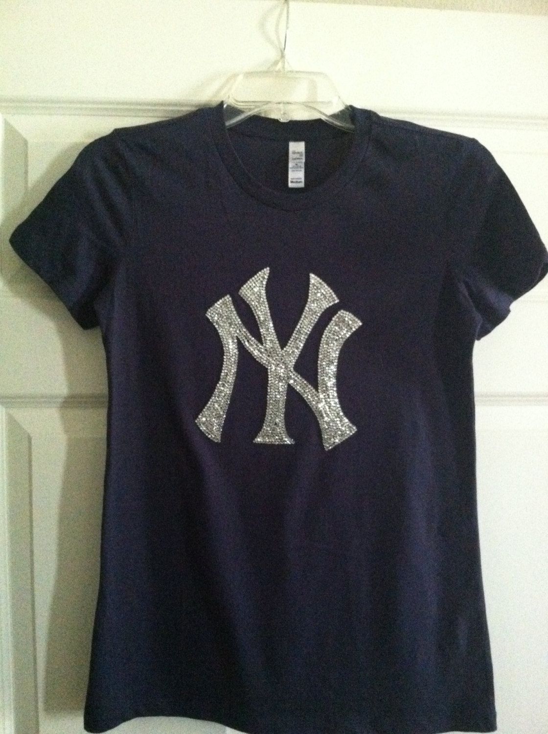 brand new 08398 64514 NewYork Yankees Bling Tshirt by LindseyNitzschke on Etsy ...