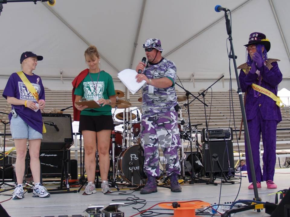 Relay For Life Opening Ceremony Honorary Chairs