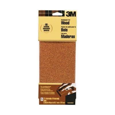 3m Garnet 3 2 3 In X 9 In 60 Grit Coarse Grade Sandpaper 5 Sheets Pack 19038 20 Cc With Images Sandpaper Garnet Sanding Wood