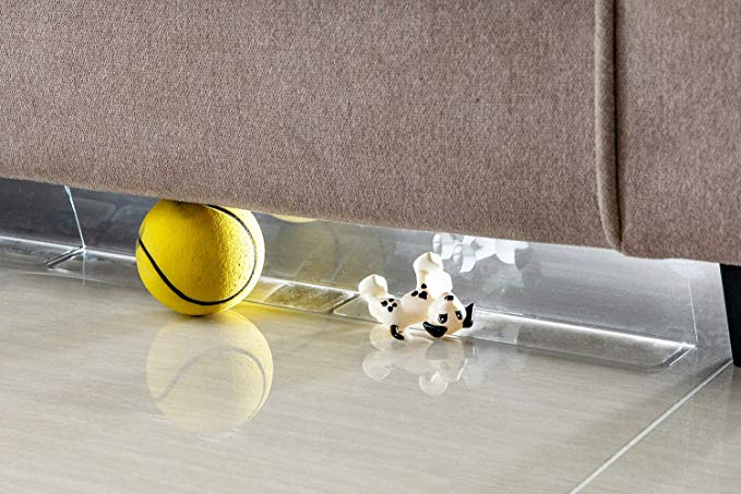 Amazon Com Bowerbird Clear Toy Blockers For Furniture Stop Things From Going Under Couch Sofa Bed And Other Furniture In 2020 Sofa Couch Bed Furniture Sofa Couch