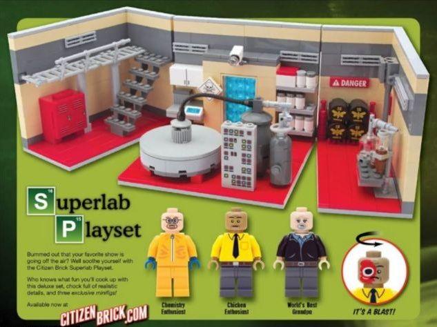 Un Juguete Para Ninos Grandes El Laboratorio Lego De Metanfetamina