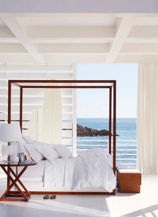 ralph lauren point dume bedding desert modern canopy bed