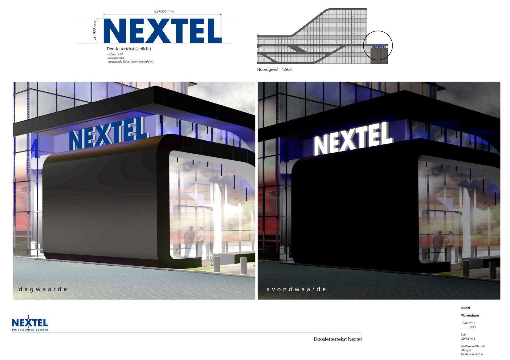 Nextel signing