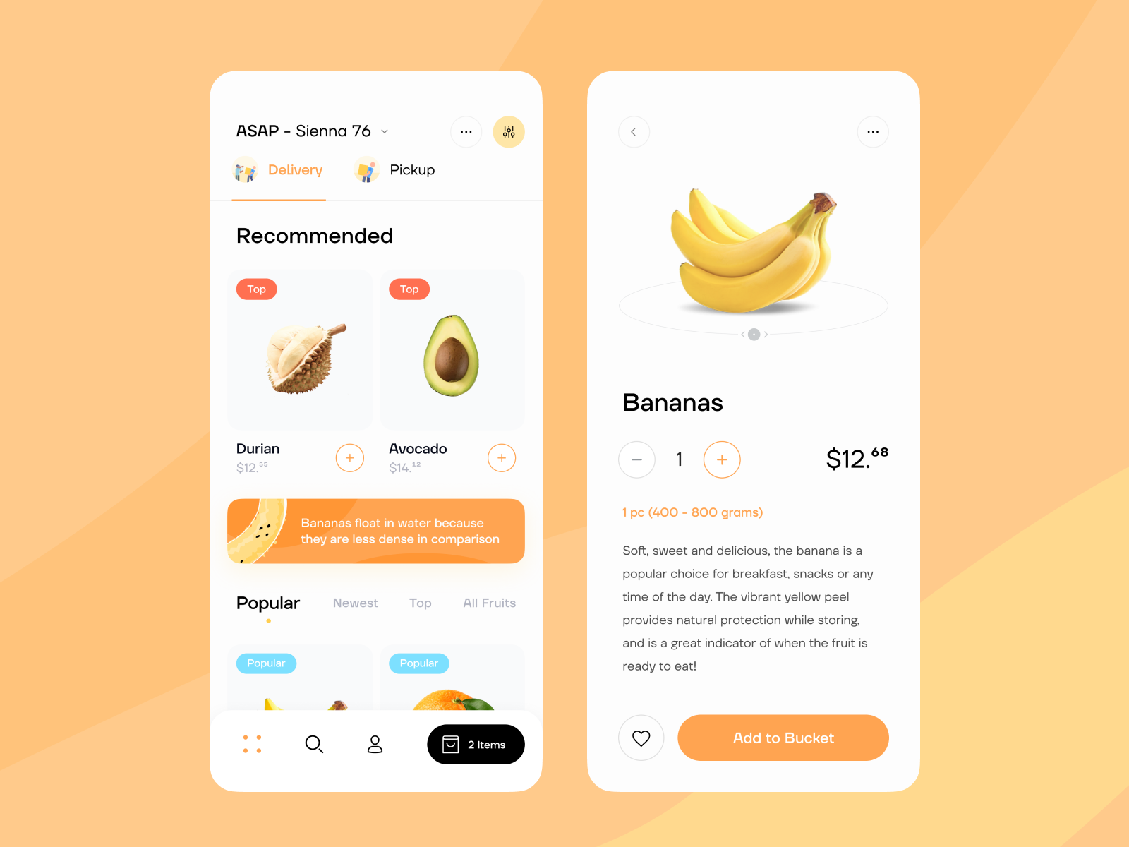 Delivery App by Toglas Studio