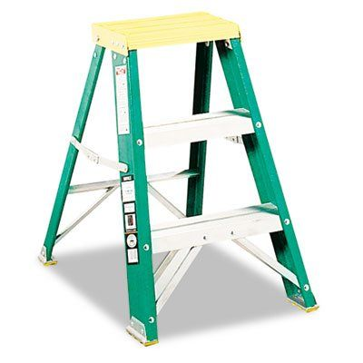 Bestseller 624 Folding Fiberglass Two Step Stoo 65 93 With Images Step Stool Folding Step Stool Step Ladders