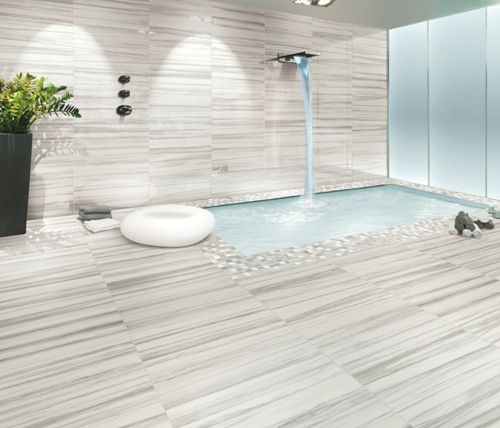 Digital Printed #Porcelain is frost proof so suitable for exterior use for all climates.