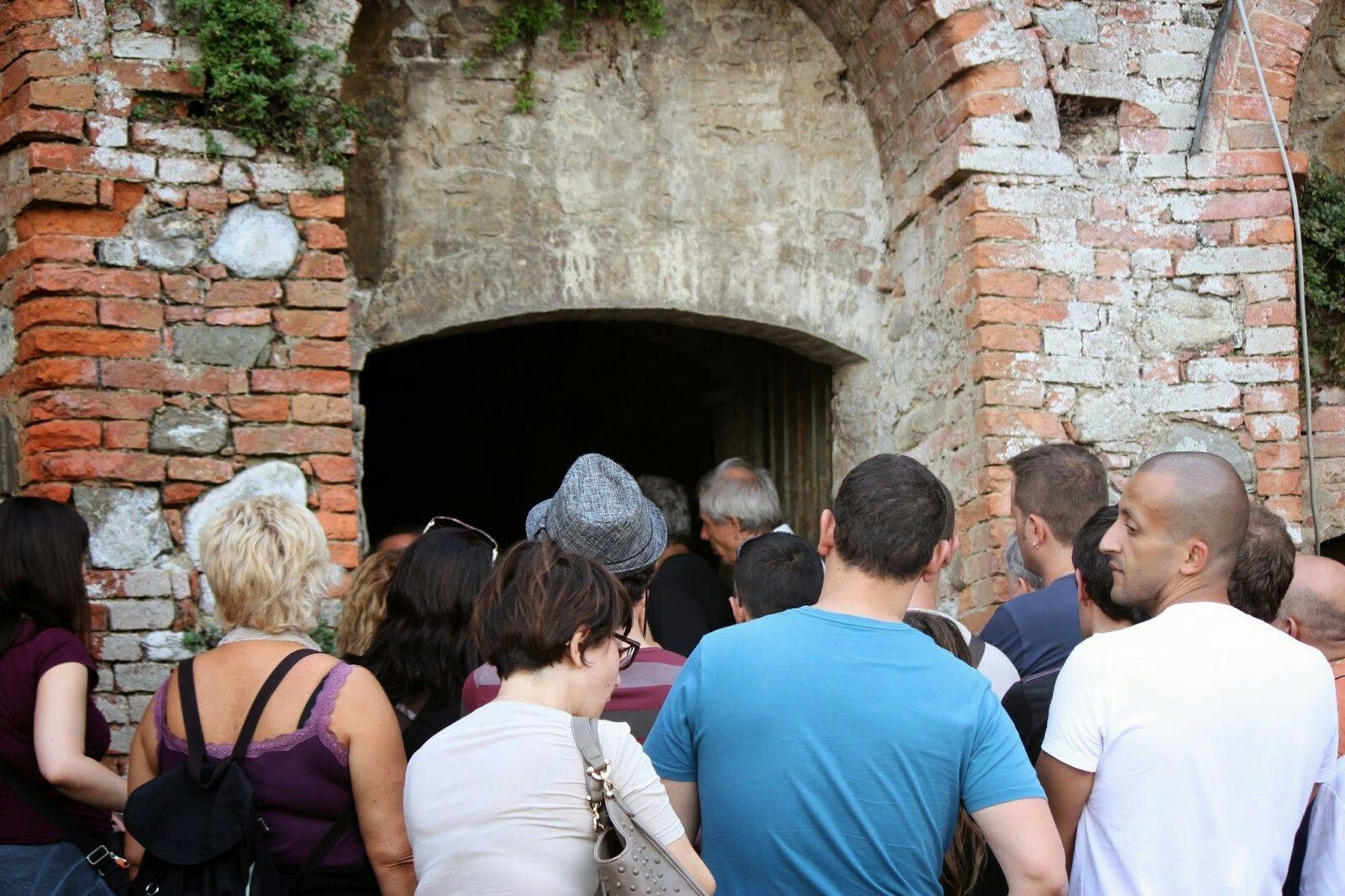 TERRICCIOLA,visita agli Ipogei. #baccoreunionvolterra Visita a cura di Lorenzo Bacci OTTOBRE 2014, Bacco Reunion Volterra