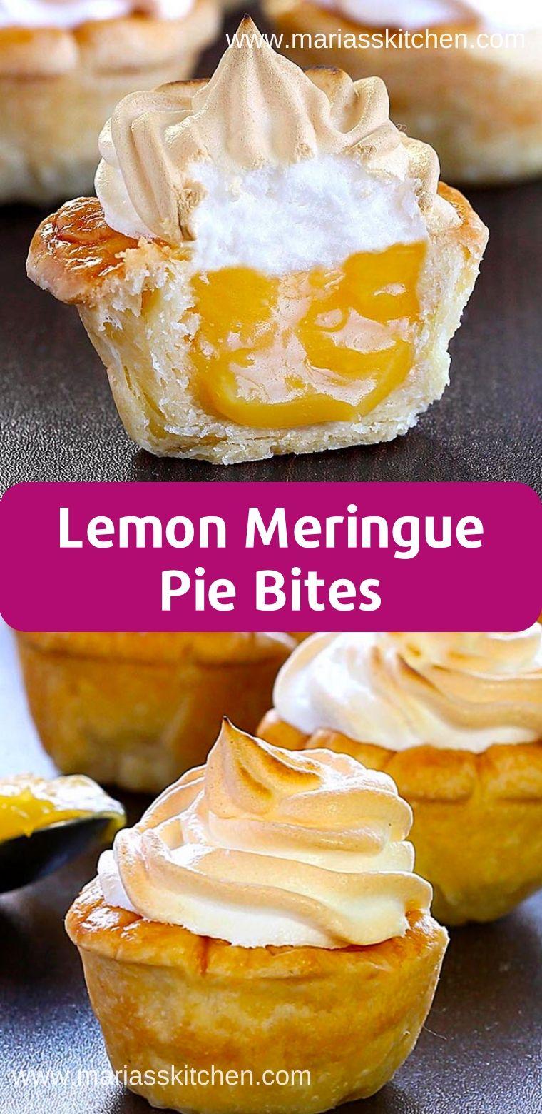 Lemon Meringue Pie Bites Recipe