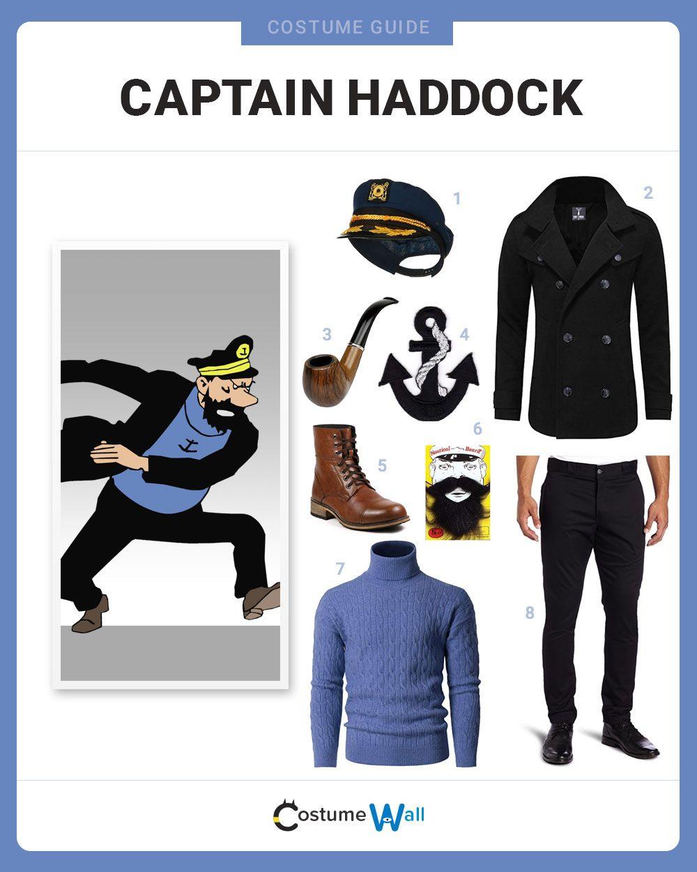 Dress Like Captain Haddock   Cosplay Ideas & Inspiration