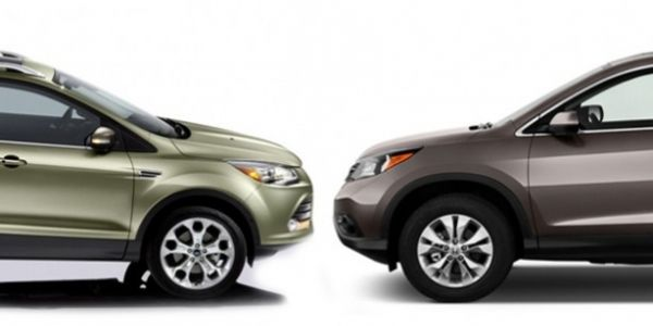 ford escape vs honda crv compare cars the ford escape and honda cr v
