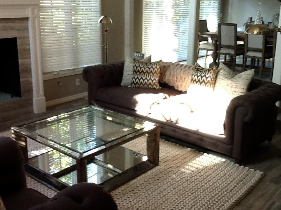 Pamela Ratzlaff Used Our Pascual Coffee Table In A Clients Living - Pascual coffee table