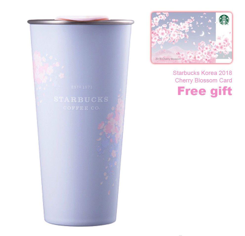 2018 Korea Starbucks Stainless steel Cherry Blossom To go Tumbler ...