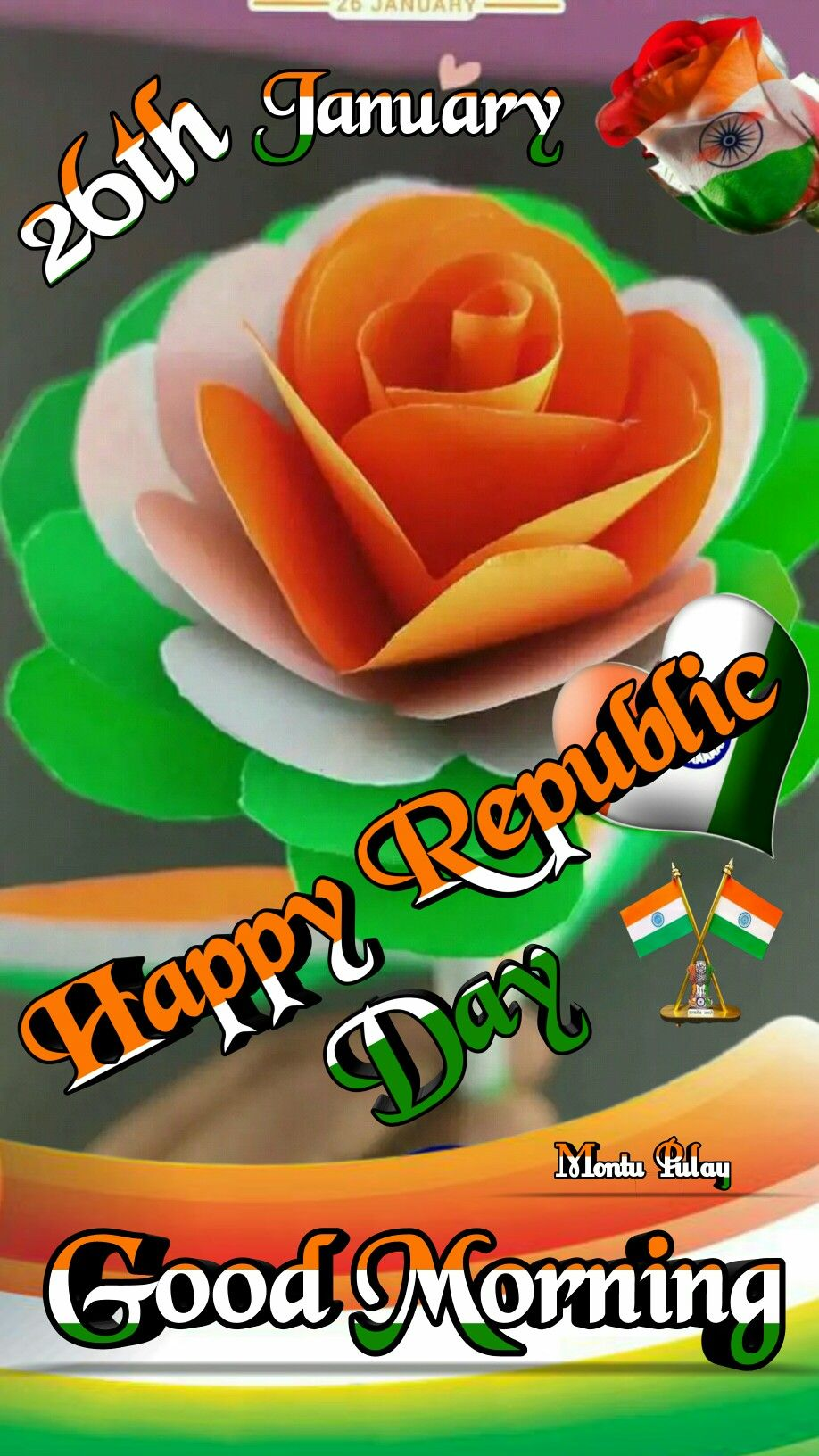 Good Morning Good Morning Flowers Gif Republic Day Good Morning Flowers Gif good morning happy republic day