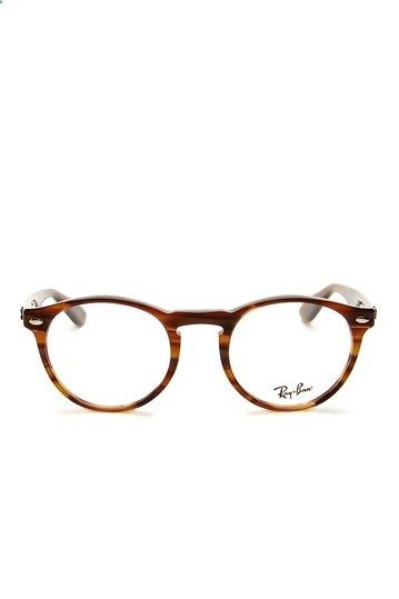 25cd8afdb5 Ray Ban Mens Striped Brown Acetate Eyeglasses by MJG Trading on HauteLook