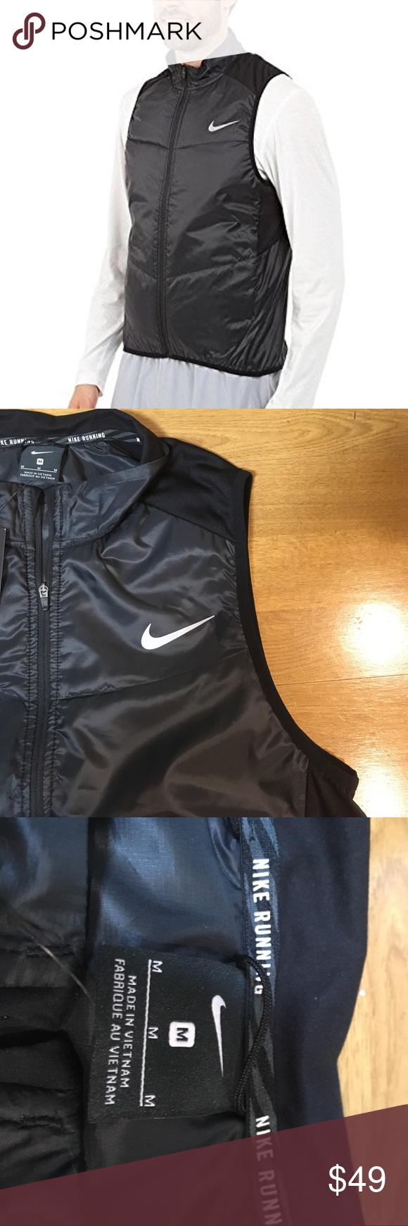 820607b71056 Men s Nike Polyfill Running Vest Nike Polyfill Men s Running Vest keeps you  running through the seasons