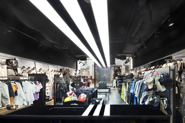Mucama daño dorado  The first implementation of Adidas new concept shop by A+D Retail Store  Design , via Behance | Concept shop, Retail store design, Store design