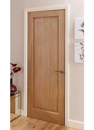 Oak Veneered Internal Doors Com Imagens Portas Marrons Portas Interiores Porta De Madeira