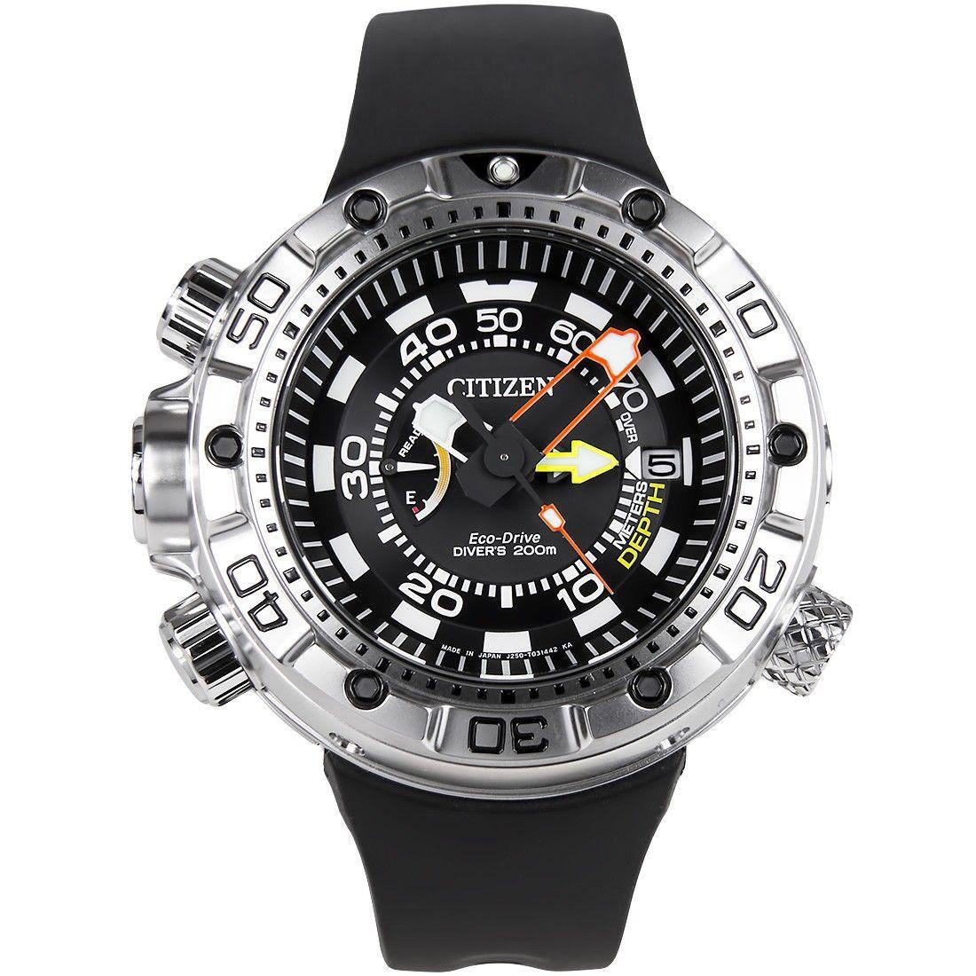 Citizen Promaster Eco-Drive Divers 200M Watch BN2021-03E BN2021