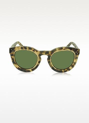 ae70356c79a8 CELINE Agnes Cl 41403 S T7H1E Havana Acetate Round Women S Sunglasses.   celine  agnes cl 41403 s t7h1e havana acetate round women