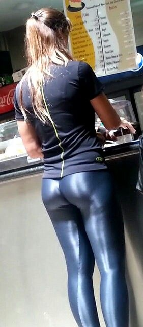 sex in leder leggings baumwollseil