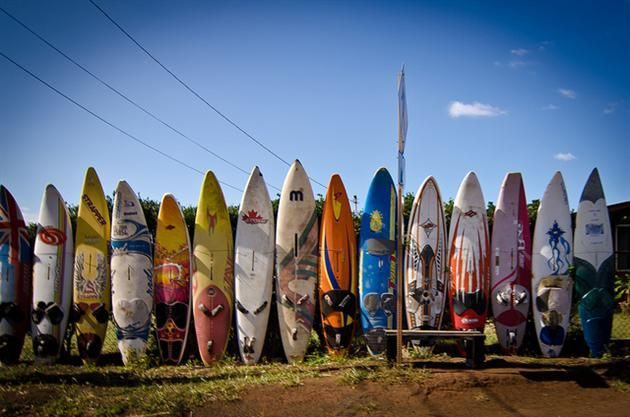 Recycled surfboards  http://hiconsumption.com/wp-content/uploads/2012/10/Recycled-Surfboard-Fence-in-Hawaii-2.jpg