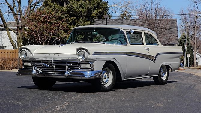 1957 Ford Custom 300 Sedan 272 Ci Automatic Ford Classic Cars
