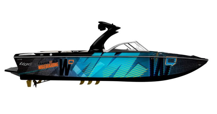 new 2013 tige boats z3 transworld edition ski and