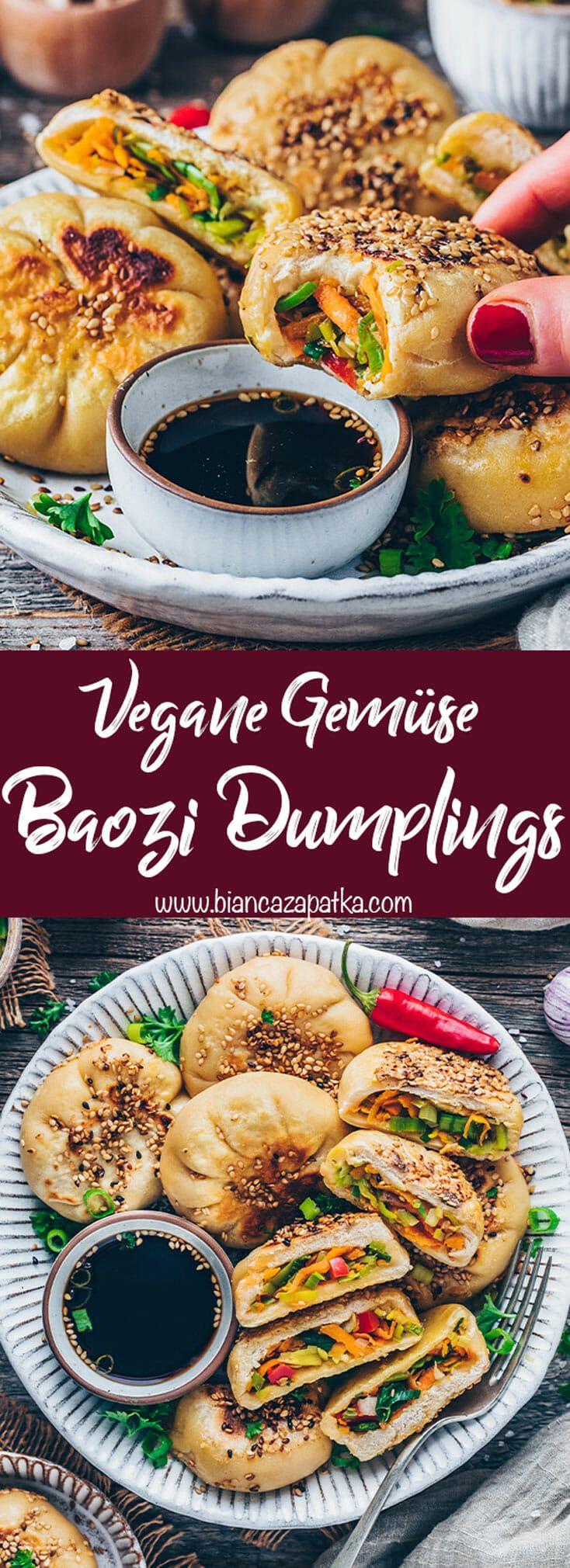 Baozi mit Gemüse | Gedämpfte Teigtaschen - Bianca Zapatka | Rezepte