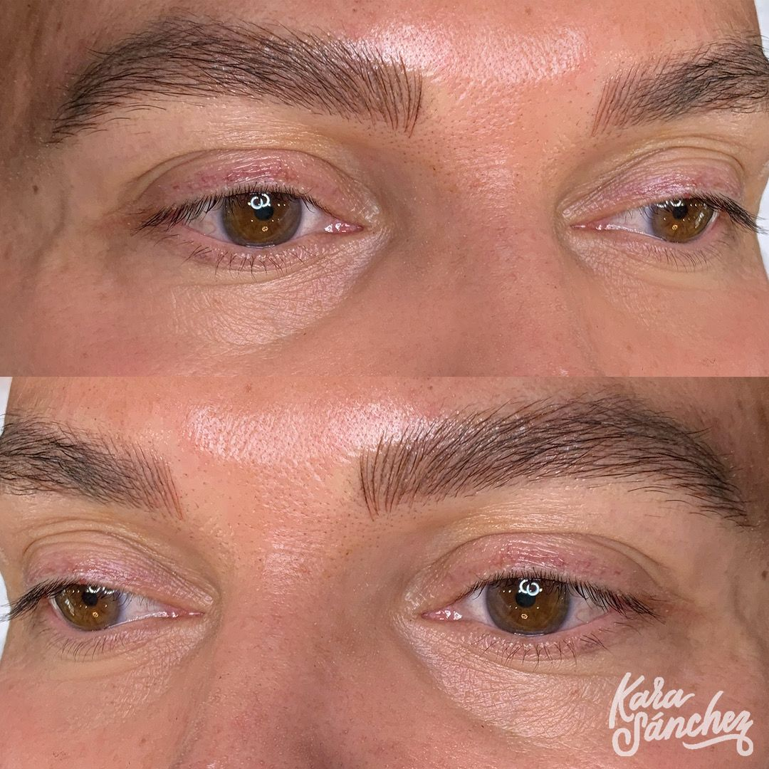 Photo of MICROBLADING FOR MEN by Kara Sanchez