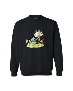 504b17c4b4 Nice Organic Cotton Celebi by SkittyStrawberries Men's Classic Sweat Shirt