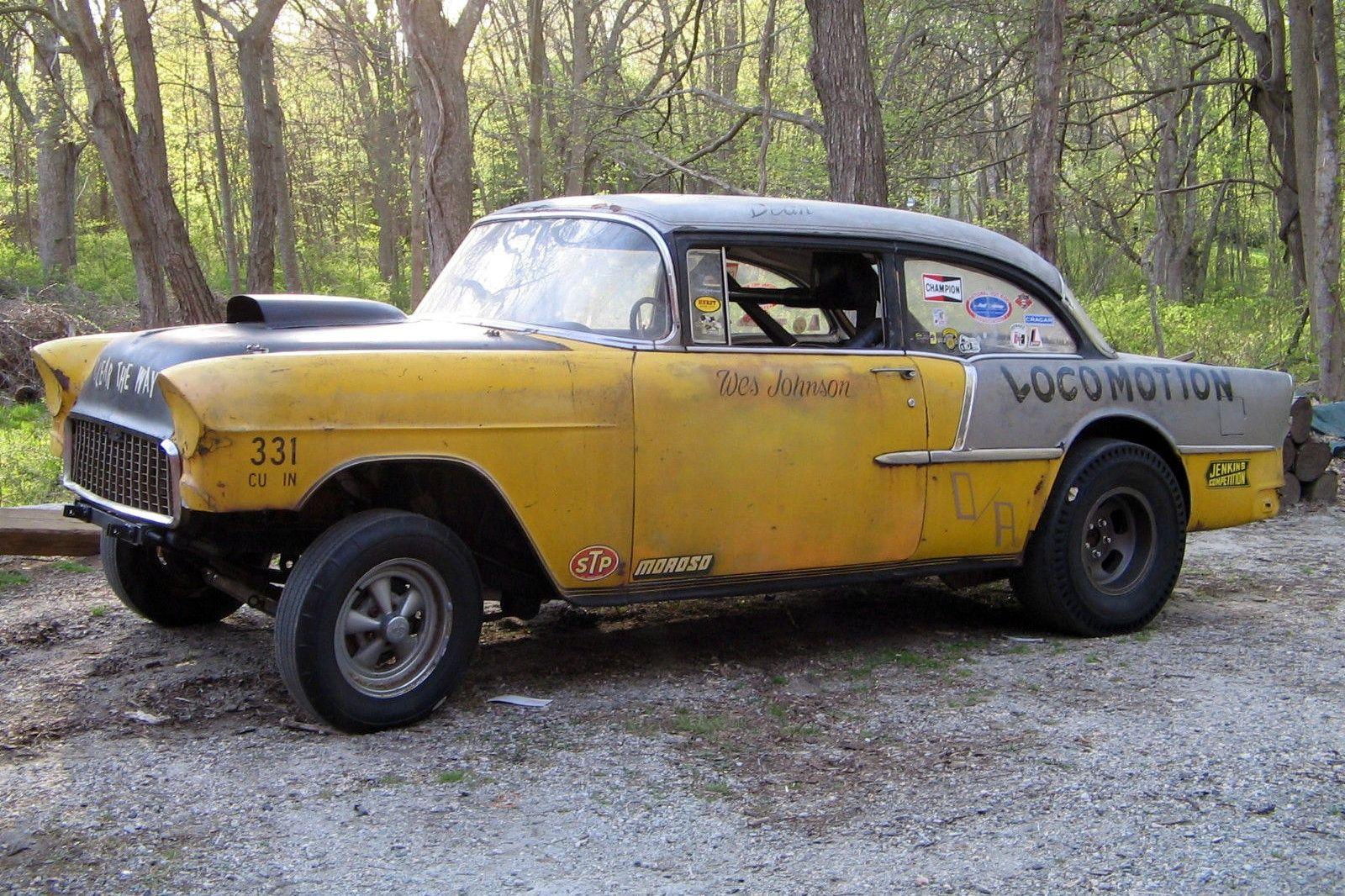 The 1955 Chevrolet Dragster 1955 chevrolet