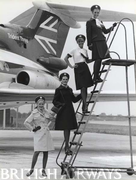 Lesson 1, girls - ensure the airstairs are placed alongside the aircraft