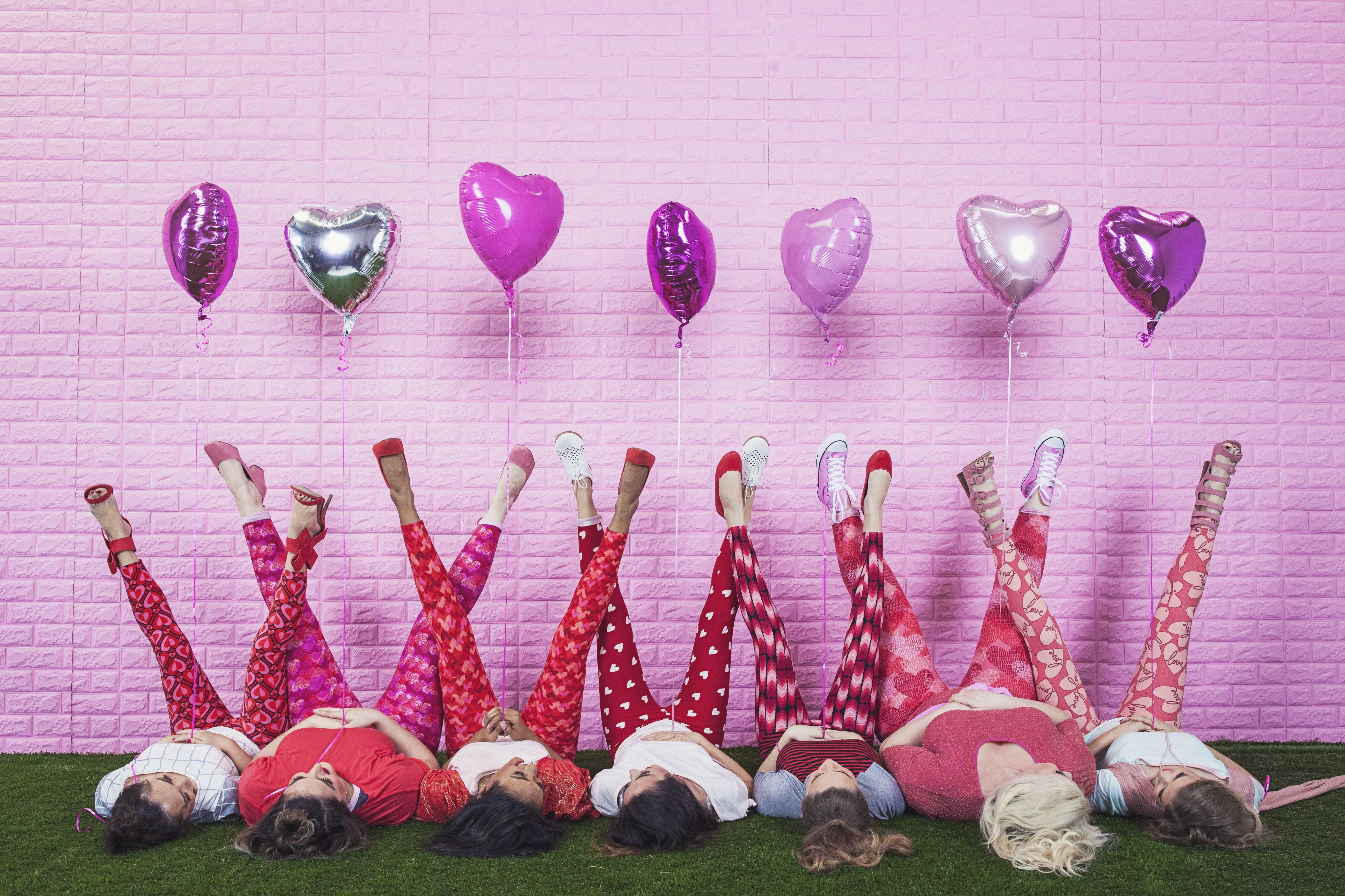 64b60ae94a273d LuLaRoe Valentine's Day Leggings | LuLaRoeRubyFosteris | Valentines ...