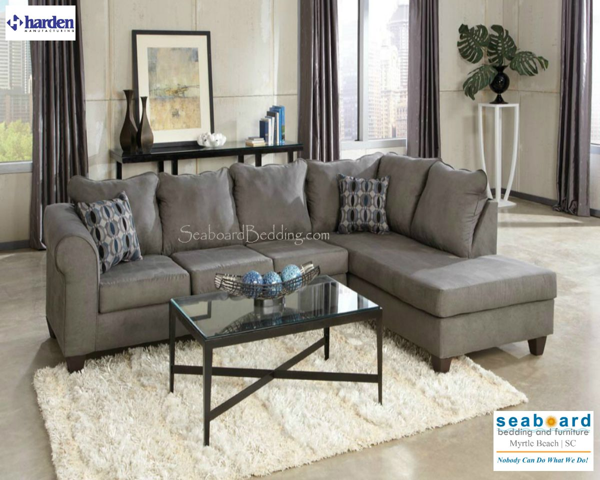 Room This spacious sectional is a perfect