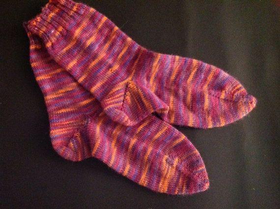 Opal German wool socks by WoolyJohns on Etsy, $21.95