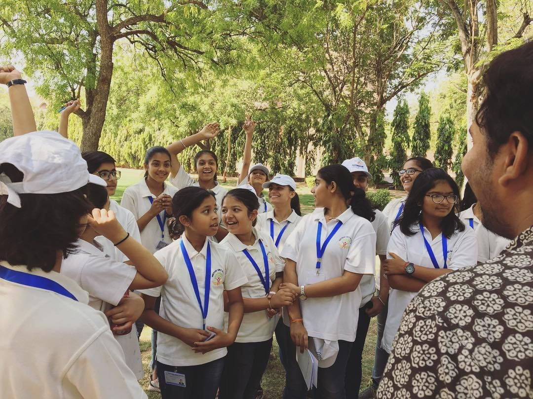 Smiles is what flows as far as the eye can see. Its at IIM-Ahmedabad that the career perspective bootcamp started where students of Heritage Girls School, Udaipur were ushered with knowledge about how can one be a student of India's top management school in the coming years.  #module #science #and #spacetechnology #tripschool #outdoorlearning #practicallearning #learningbydoing #holisticlearning #heritagegirlsschool #iimahmedabad #campus #career #perspective #bootcamp