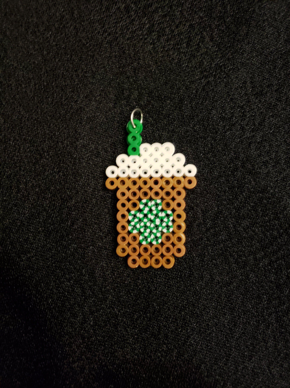 9fd4cf29e90a0 Starbucks Coffee Drinks | Perler Beads | Beads, Melting beads, Fuse ...
