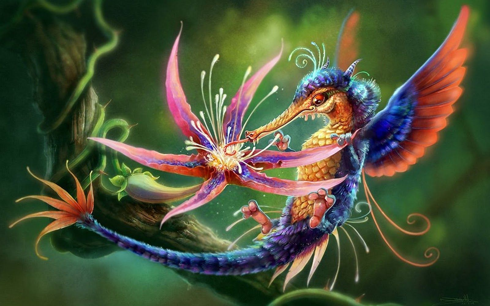 Fanticy Full Colours Fantasy Wallpaper Bird Full Colours Fantasy Wallpaper Animal Wallpaper Animals Beautiful Beautiful Wallpapers Backgrounds
