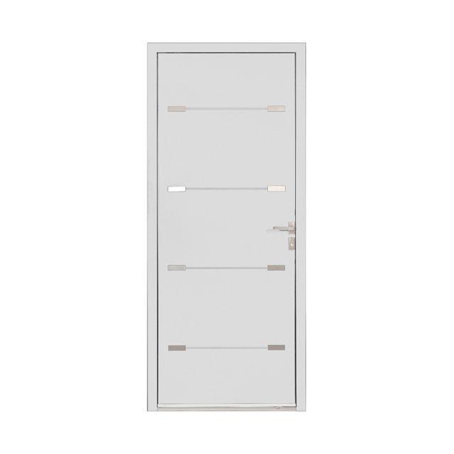 Porte d\u0027entrée alu Alexia blanc - CASTORAMA future maison Pinterest
