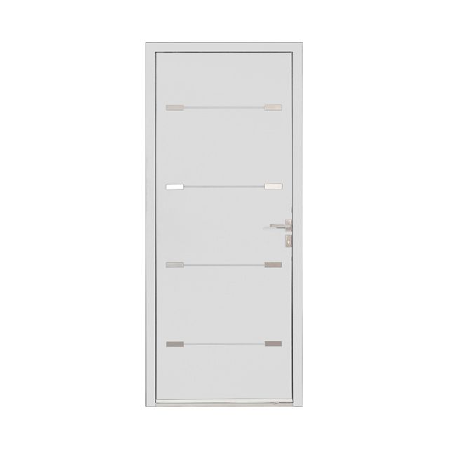 Porte du0027entrée alu Alexia blanc - CASTORAMA future maison Pinterest - etancheite porte d entree