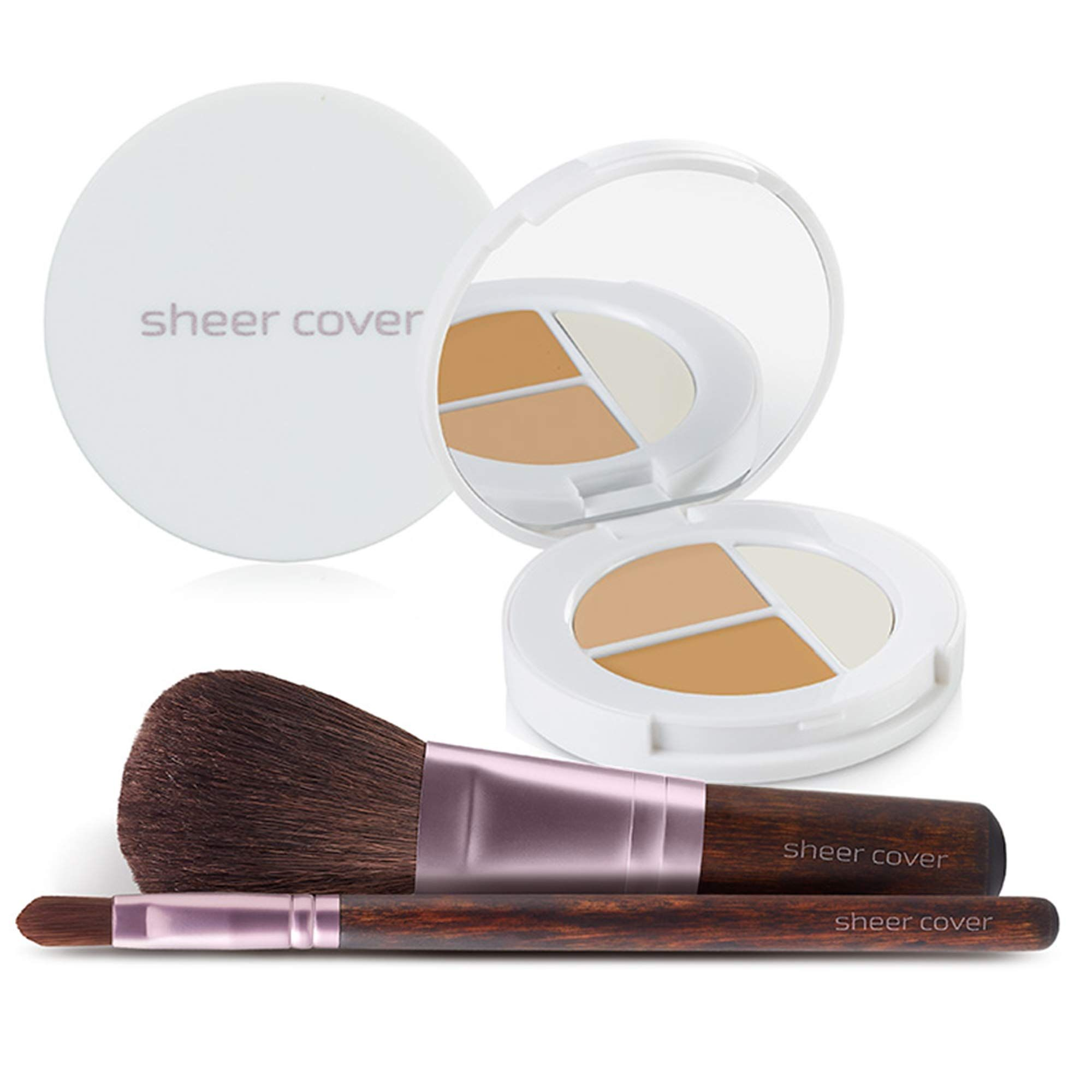 Sheer Cover Flawless Face Kit Perfect Shade Mineral