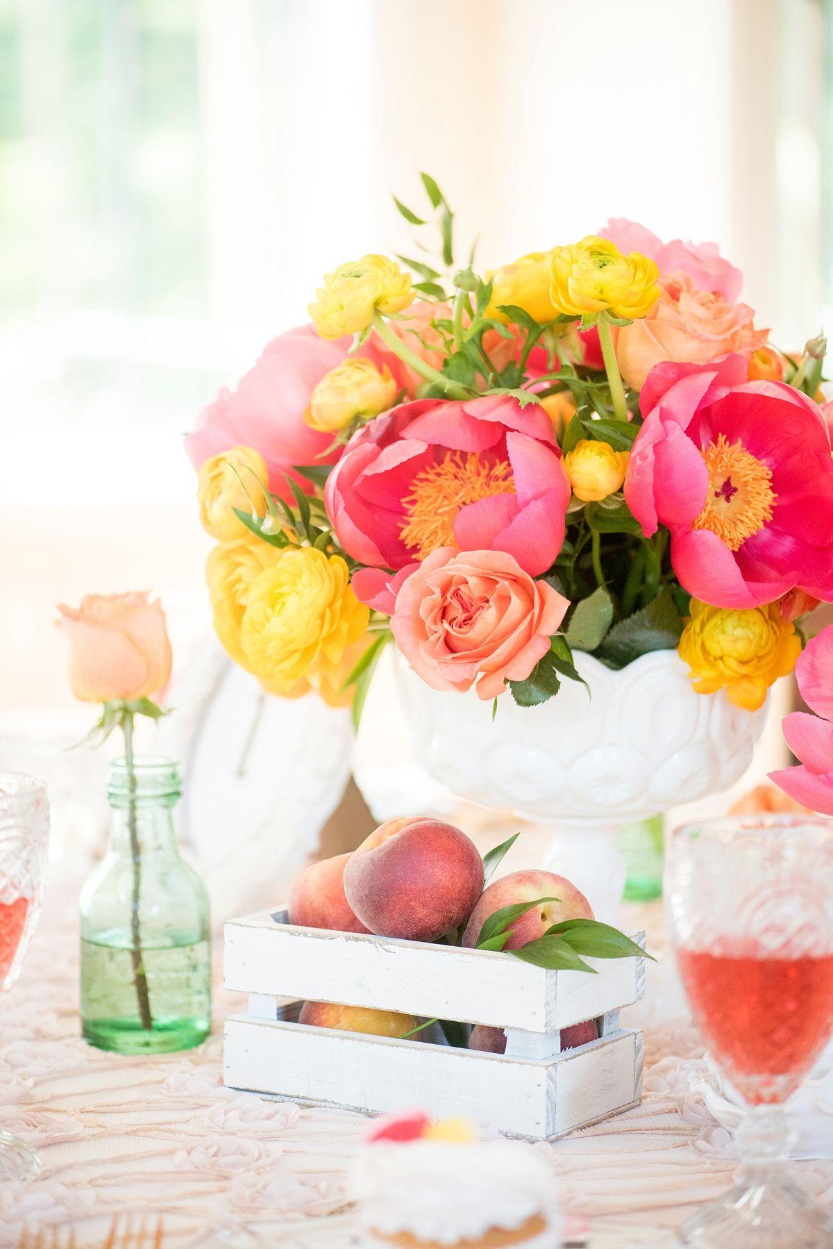 Pink & Yellow Vintage Modern Wedding Ideas_0017