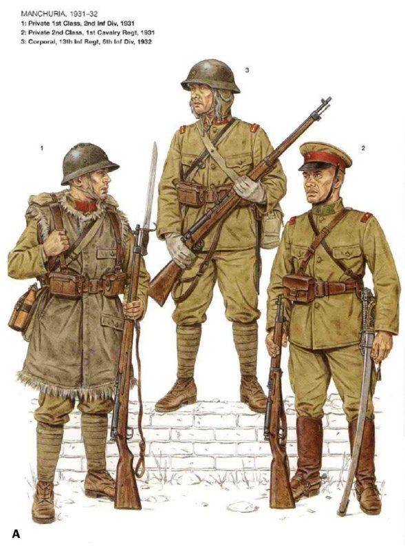 Japanese Uniform Reference | WW2 Asia Arsoft | DUST: IJA ...Japanese Military Uniform Ww2