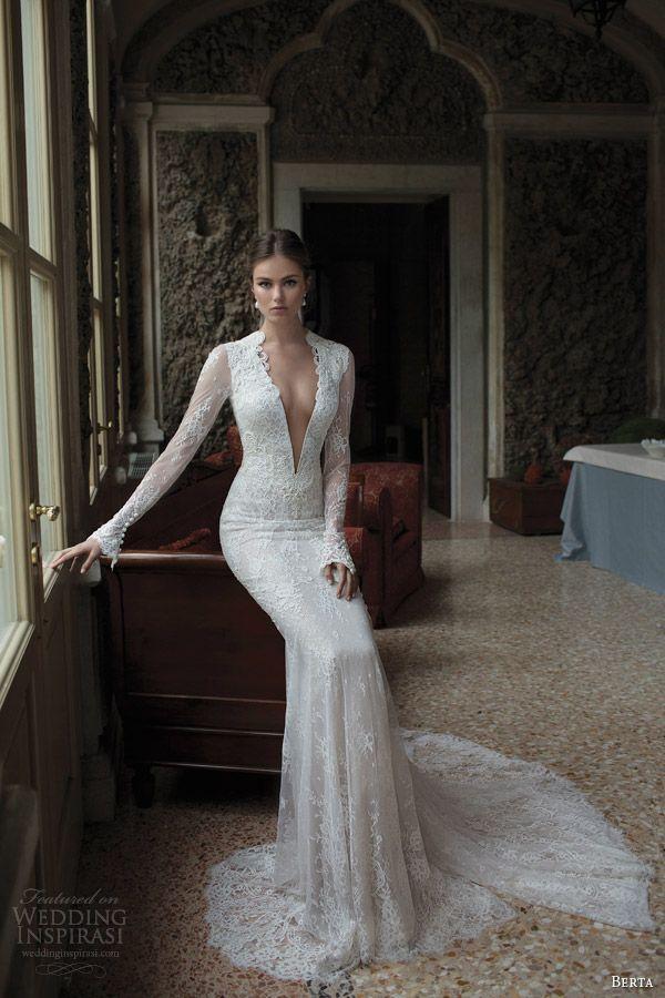 Berta Bridal Winter 2014 — Long Sleeve Wedding Dresses   Pinterest ...